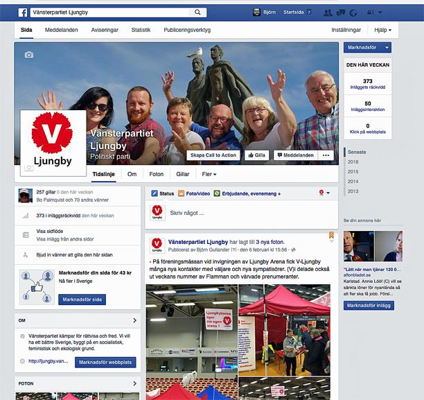 V-faceboksida